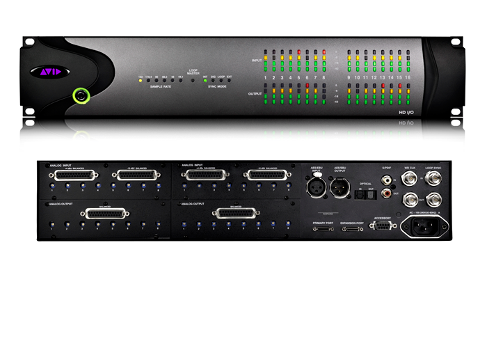 Avid HD I/O 16x16 Analog or Digital